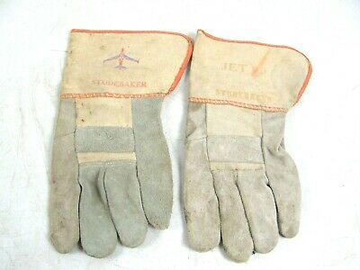 2 Studebaker Jet 99 Gloves Car Truck Promo Advertising Store Gas Oil Auto