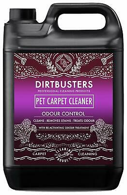 Dirtbusters pet carpet cleaner 5 litre professional carpet and upholstery