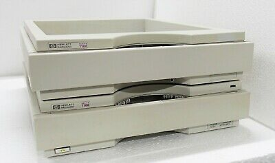 HP/ AGILENT 1100 HPLC G1322A DEGASSER w SOLVENT TRAY LC