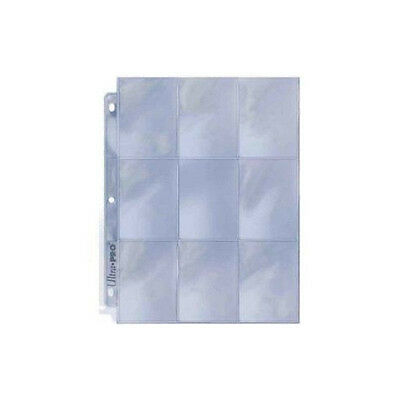 25 ULTRA PRO  9-POCKET Pages Sheets Protectors Brand New Platinum Series