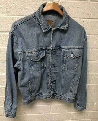VTG 90's Gap Mens Denim Trucker Jacket Size Medium