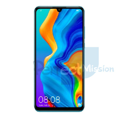 NEW Huawei P30 Lite Dual SIM 6GB / 128GB 4G LTE MAR-LX2 Peacock Blue