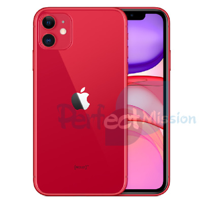 NEW Apple iPhone 11 Dual SIM (A2223) Red 128GB