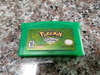 Nintendo Pokemon leaf green  GBA gameboy advance  FAST DELIVERY FROM USA