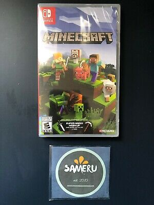 New Minecraft Nintendo Switch Sealed Usa Seller Fast Free Shipping!