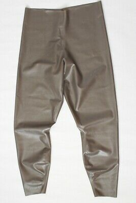 Latex Chloriert Leggings Gummi Rubber Pants Gummihose XL