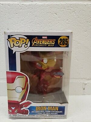 Funko Pop Marvel Avengers Infinity War: Iron Man Bobble-Head