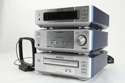 Aiwa XR-M99  Stereo Mini Component System. 3 Pieces PARTS/REPAIR