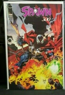 SPAWN 300 COVER D GREG CAPULLO VARIANT NM TODD McFARLANE