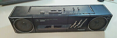 Vintage Panasonic Rx-F3 Ambience Stereo Radio Cassette Recorder
