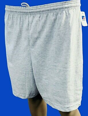 Russell Athletic Shorts Workout Cotton w/ Drawstring & Elastic Waist