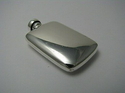 ART DECO STERLING SILVER PERFUME BOTTLE SCENT FLASK The Thomae Co.c1940s No Mono