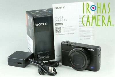 Sony Cyber-Shot DSC-RX100M3 Digital Camera With Box*Japanese Language Only#23869