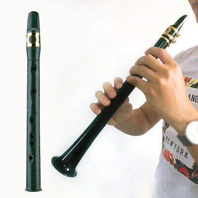Mini Portable Pocket Bb Saxophone Sax Woodwind Instrument with Carrying Bag-