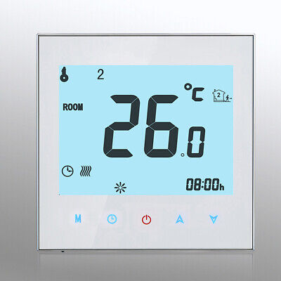 3A Cronotermostato Digitale Programmabile Lcd Touch Screen Termostato