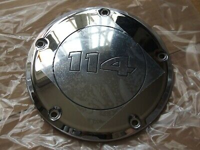 Harley Davidson Chrome 114 Derby clutch Cover 25700866