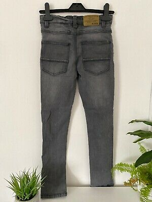 Next Super Skinny Jeans 10-11 Years Boys Dark Grey