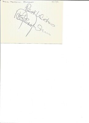 Steve Perryman 6x4 inch autograph piece, former football player EL320