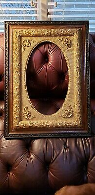 Antique Gold Gilt & Wood Frame w/ Intricate Detail