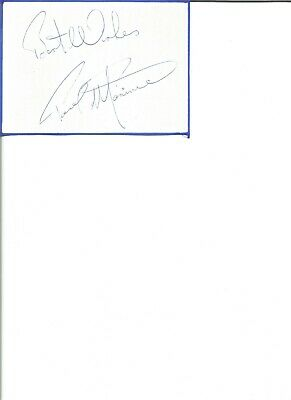 Paul Mariner 6x4 inch autograph piece, former football player , EL344