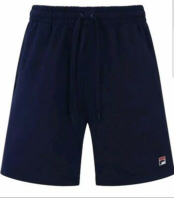 Mens Fila Jogger Shorts Navy BNWT