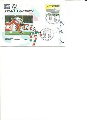 Paul Parker from Queens Park Rangers signed FDC  dated 06/06/1990 , EL354