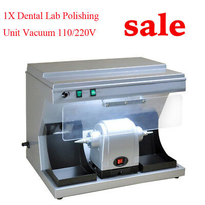 Dental Polishing Polisher Unit Vacuum Built-in Suction Dust Collector Passed DHL