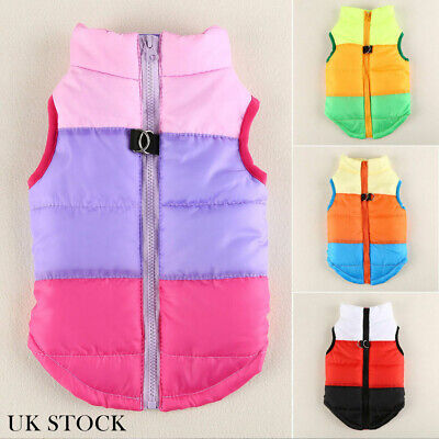 Small Pet Dog Cat Puppy Vest Coat Winter Warm Clothes Waterproof Jacket Apparel