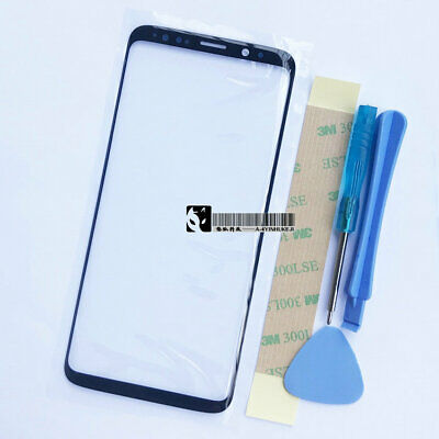 For Samsung Galaxy S8 S8 Plus S9 S9+ Front Screen Lens Outer Glass Tools