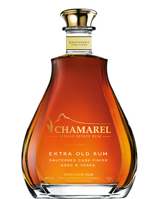 Chamarel Extra Old Rum Sauternes Cask Finish 8 J. 0,7 L 45% vol.