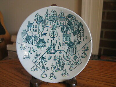 "Nymolle Denmark Limited Edition #4006 Art Faience HOYRUP 4 7/8"" Trinket Dish"