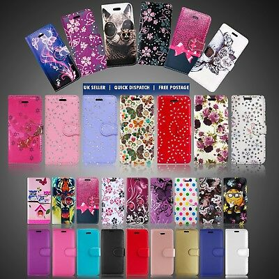 For Lg K40 & Many Leather Wallet Flip Book Full Safe Phone Case Cover Card Slots