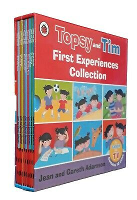 Topsy and Tim 10 Books First Experiences Box Set Kids Young Children Nursery New