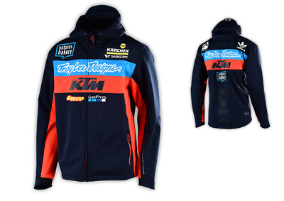 Troy Lee Designs KTM Factory Team Pit Jacke Freizeitjacke Softshelljacke Navy