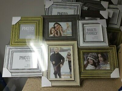 Job Lot Bulk Sale Clearance Large Picture Holder Photo Frame mix size/style 6x