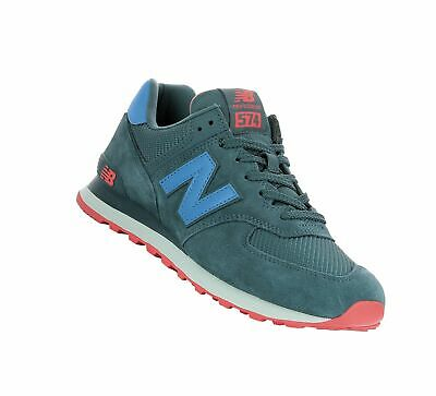 NEW BALANCE ML 574 ESQ Outer Space Schuhe Sneaker Blau Beige