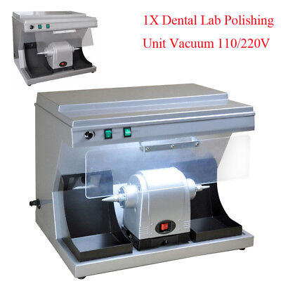 Dental Polishing Unit Polisher Vacuum Built-in Suction Dust Collector Durable