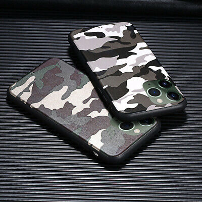 Camouflage Army Case For iPhone 11 Pro Max XS XR 7 8 Plus Soft Shockproof Cover
