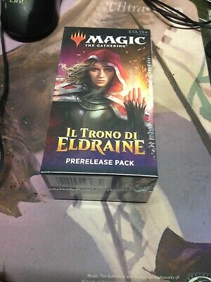 MTG Prerelease Pack IL TRONO DI ELDRAINE - THRONE OF ELDRAINE ITALIANO SIGILLAT