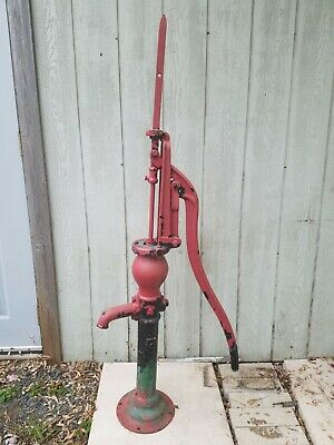 Old Vintage Fairbury Windmill Company Fairbury Nebraska Cast Iron Hand Pump