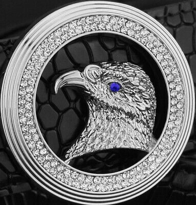 Eagle Diamonds Mens Designer Belts For Men Luxury Crocodile H Belts Reverse New