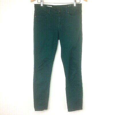 """NWT Gap Baby Boot Corduroy Jeans Deep Forest Green size 26 Long 34/"""" inseam B27"""