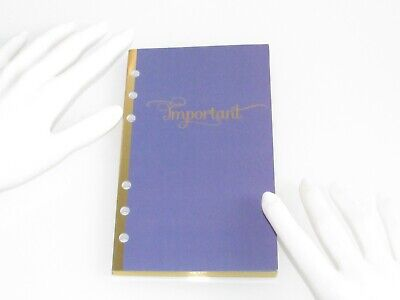 New  Important Information Book To Store Contacts / Insurance / Banking / Family