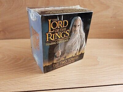Lord Of The Rings Two Towers Deluxe Card Trading Traders Set Brand New Sealed