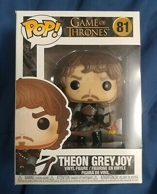 Funko Pop ! Theon Greyjoy #81 Game Of Thrones - New & In Hand