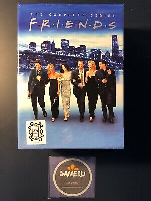 New Friends The Complete Series Dvd Seasons 1-10 Box Set Sealed Priority Mail