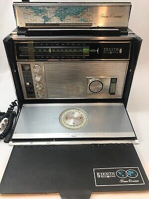 Zenith Royal 7000-1 Trans-Oceanic AM/FM Shortwave Radio - Working!