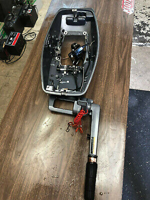 1993 Yamaha 20 25 HP 2 Stroke 2 Cyl Outboard Motor Tiller Handle Freshwater MN
