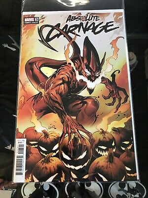 Absolute Carnage #3 (2019) 1:25 Greg Land Variant Donny Cates Marvel Comics