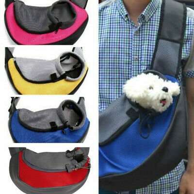 Pet Dog Cat Puppy Carrier Tote Shoulder Travel Bag Sling Backpack Supplies